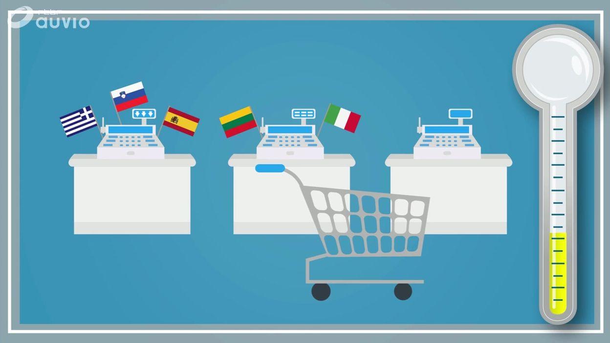 Check Point : en Belgique, la plus forte augmentation des prix de la zone euro