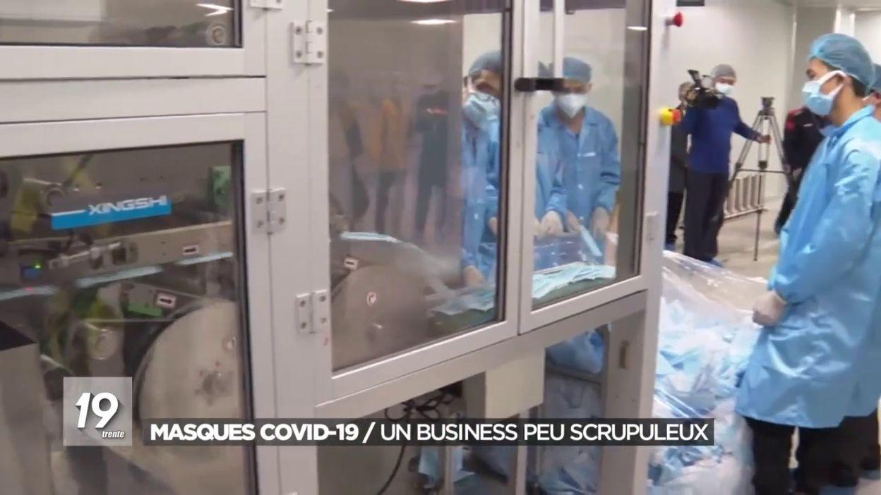 Coronavirus : la filière de ventes de masques soumise à des gens peu scrupuleux