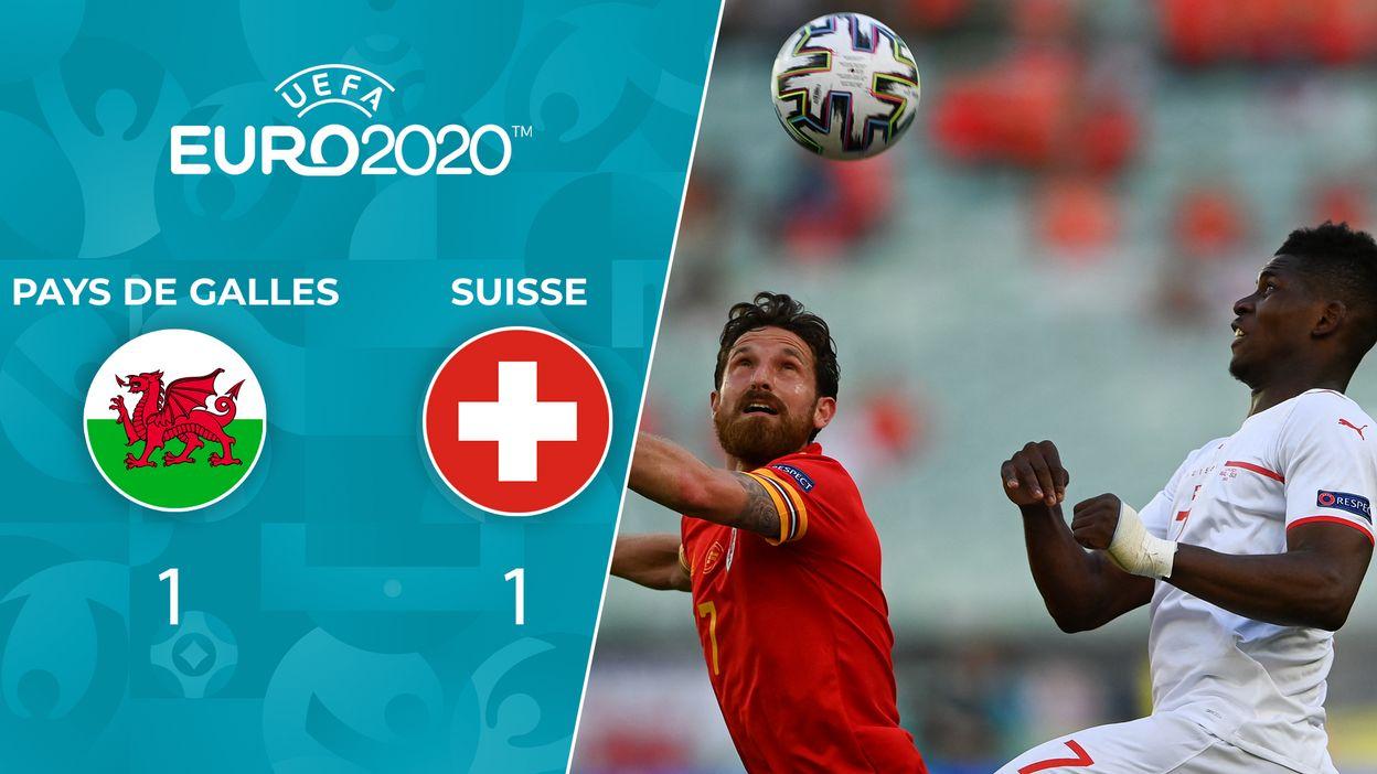 Pays de Galles - Suisse : Le Résumé du Match
