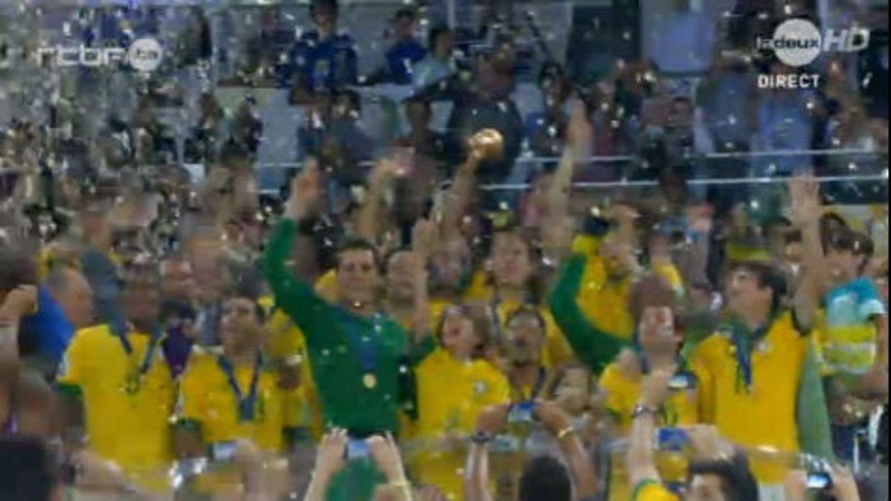Le Brésil décroche sa 4ème coupe des Confédérations
