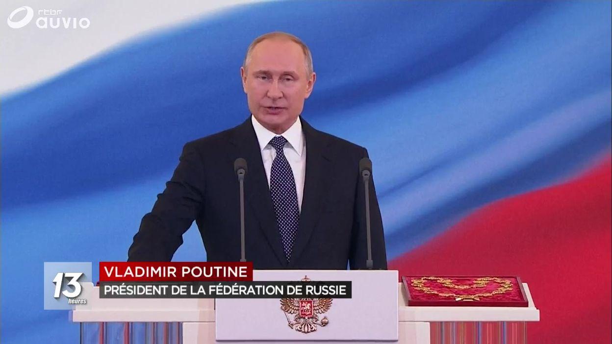 Vladimir Poutine prête serment en tant que président pour la 4e fois