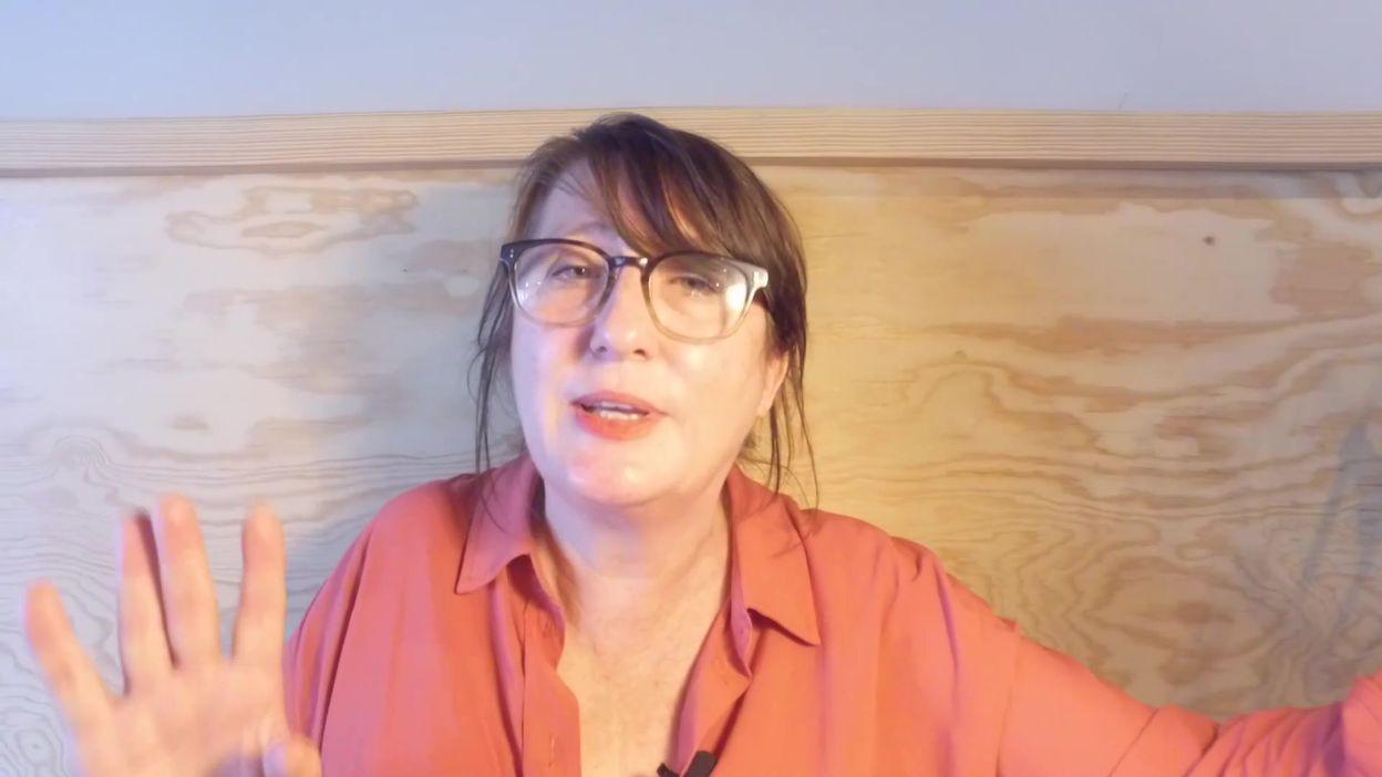 Nathalie Uffner dans C'est l'heure de l'apéro