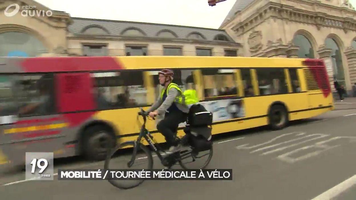 Mobilité : une tournée médicale à vélo