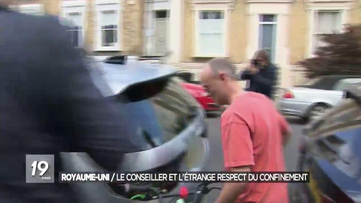 Coronavirus en Grande-Bretagne: Dominic Cummings proche conseiller de Boris Johnson accusé d avoir enfreint les règles de confinement