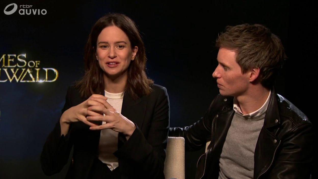 Jude Law, Katherine Waterston, et Eddie Redmayne, l'interview pour les