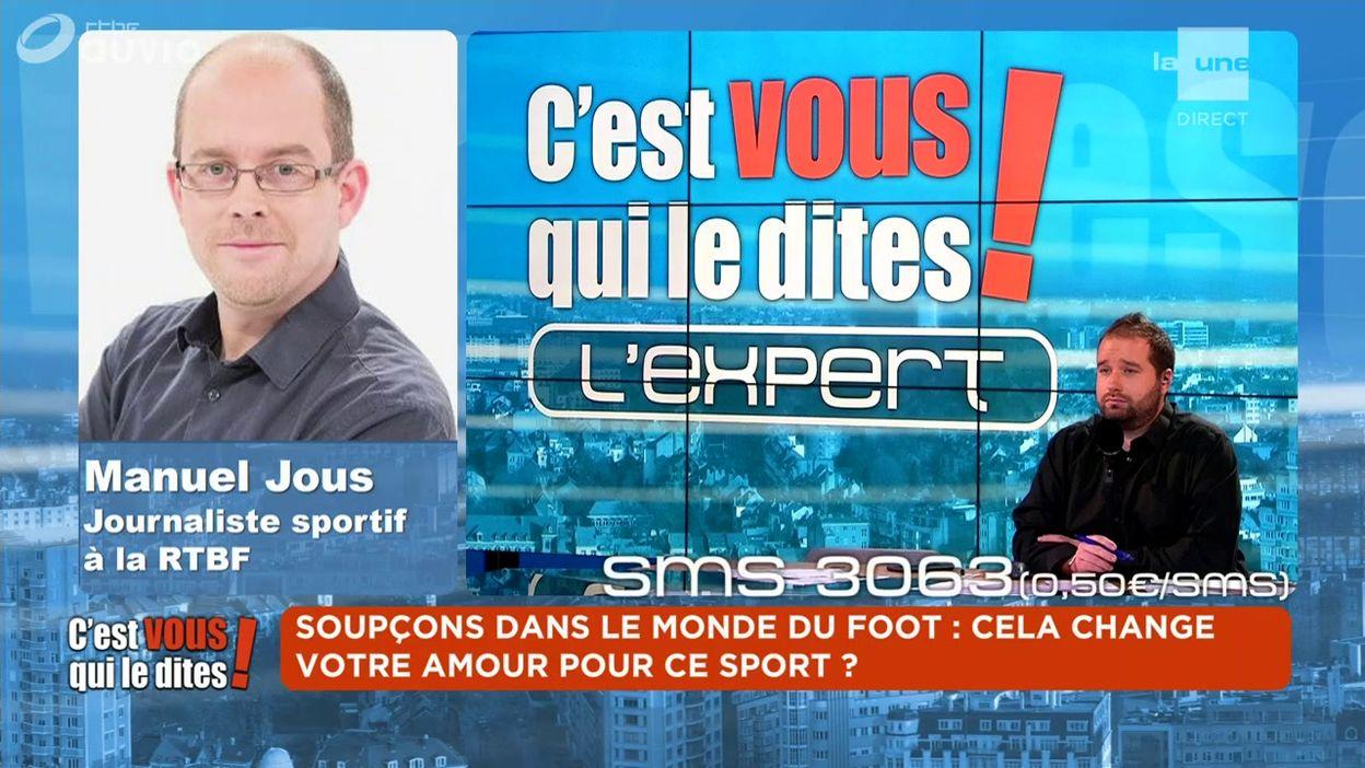 L'expert du débat : Manuel Jous - Journaliste sportif à la RTBF