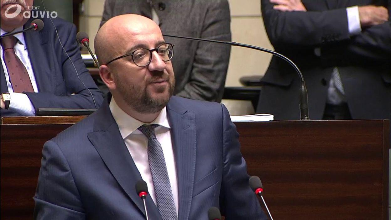Charles Michel prône le dialogue à propos de la situation en Catalogne