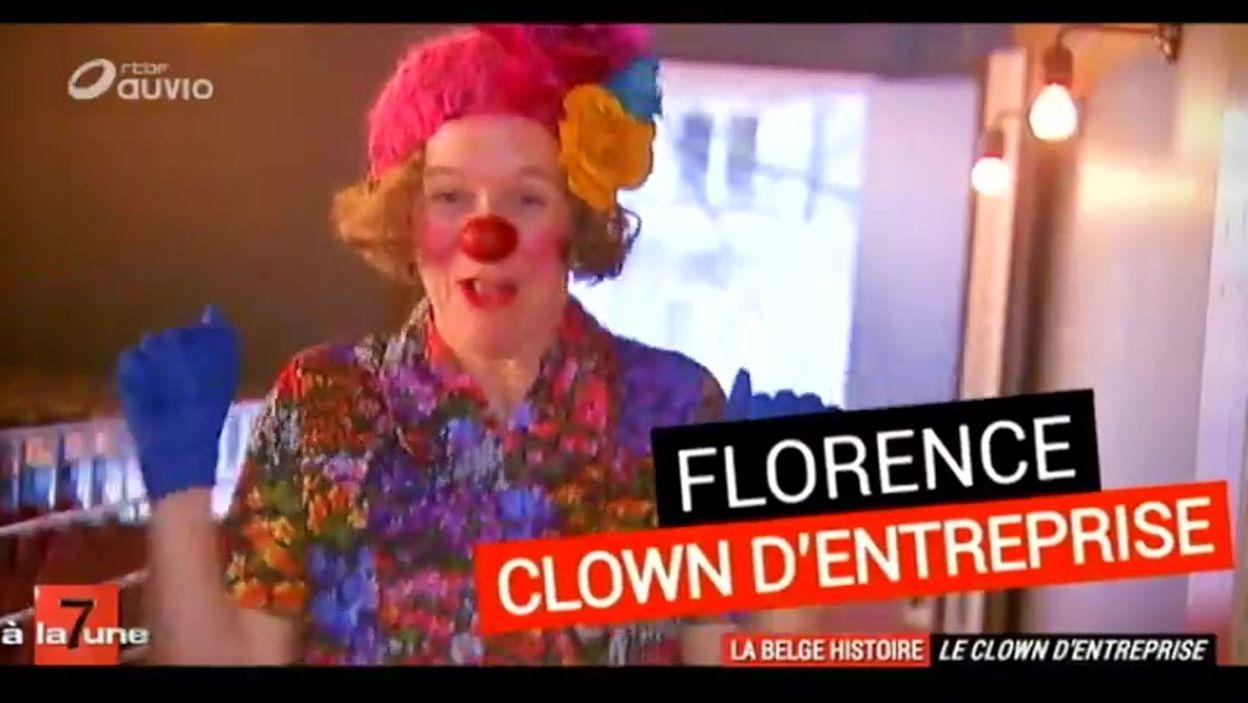 Le clown d'entreprise - la Belge Histoire