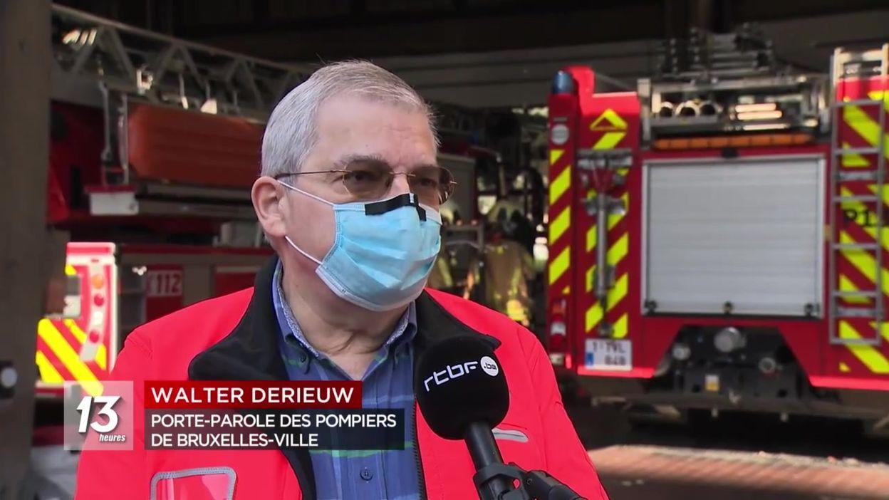 Cocktails molotov sur les pompiers : soirées de troubles dans les Marolles à Bruxelles