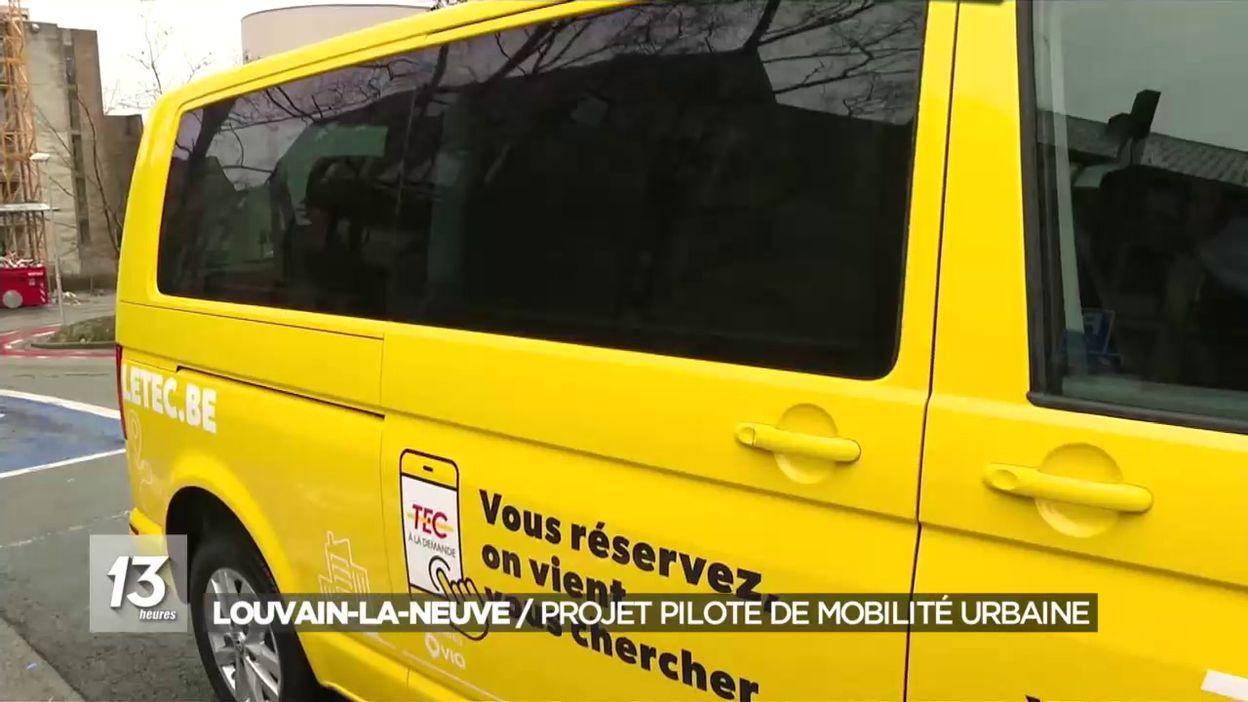 Louvain-la-Neuve : Projet pilote de mobilité urbaine