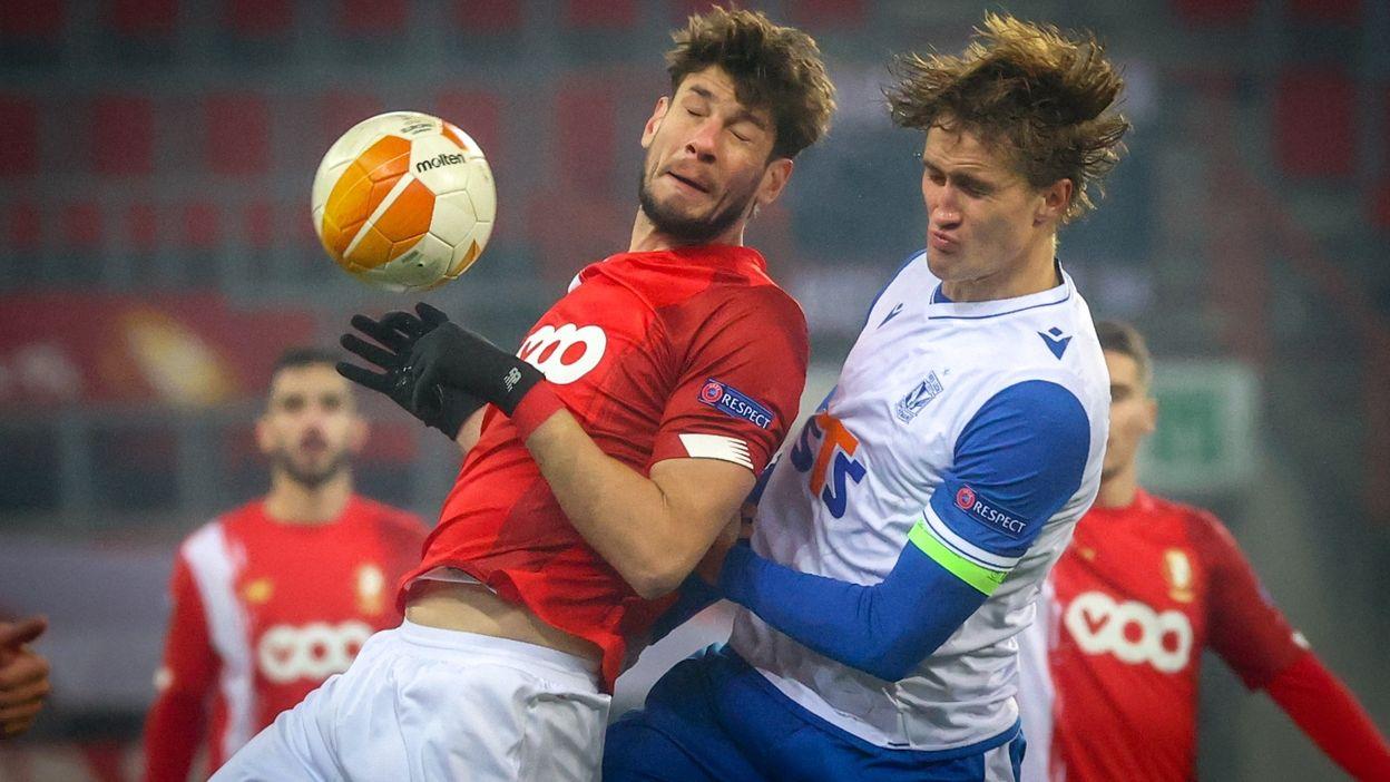 Standard - Lech Poznan : 2-1