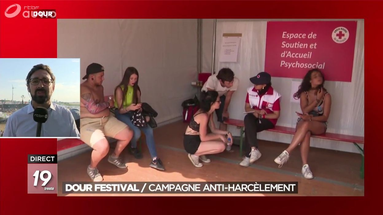 Dour Festival : la campagne anti-harcèlement