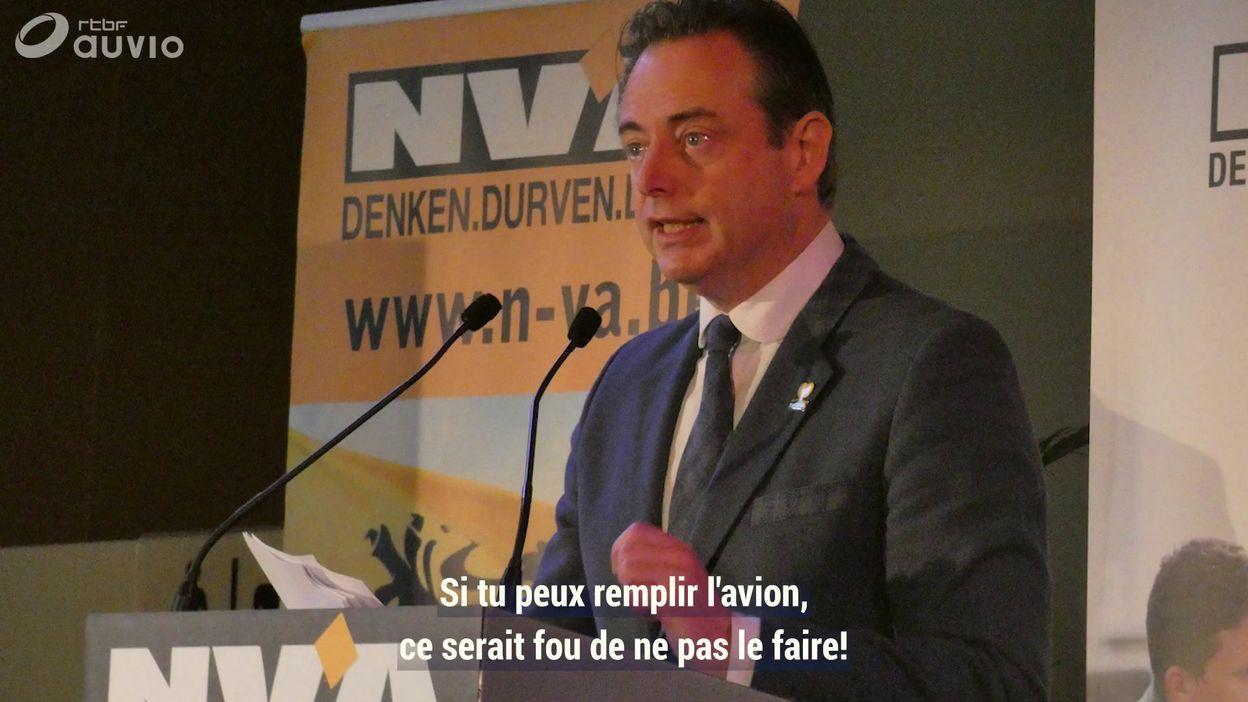 Bart De Wever et Air Francken