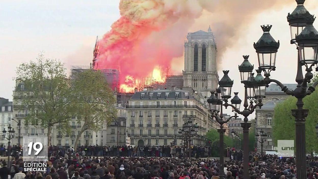 Il y a un an : l'incendie de Notre-Dame de Paris