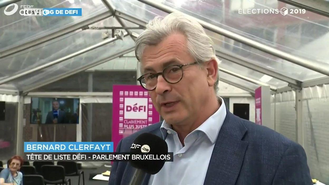 Bernard Clerfayt espère que Défi soit bien représenté en Wallonie