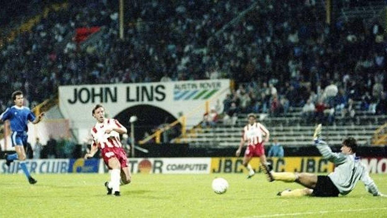 Antwerp - Vitosha Sofia : 26 septembre 1989  (4-3)