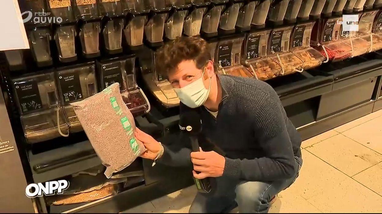 Carrefour, greenwashing au rayon vrac