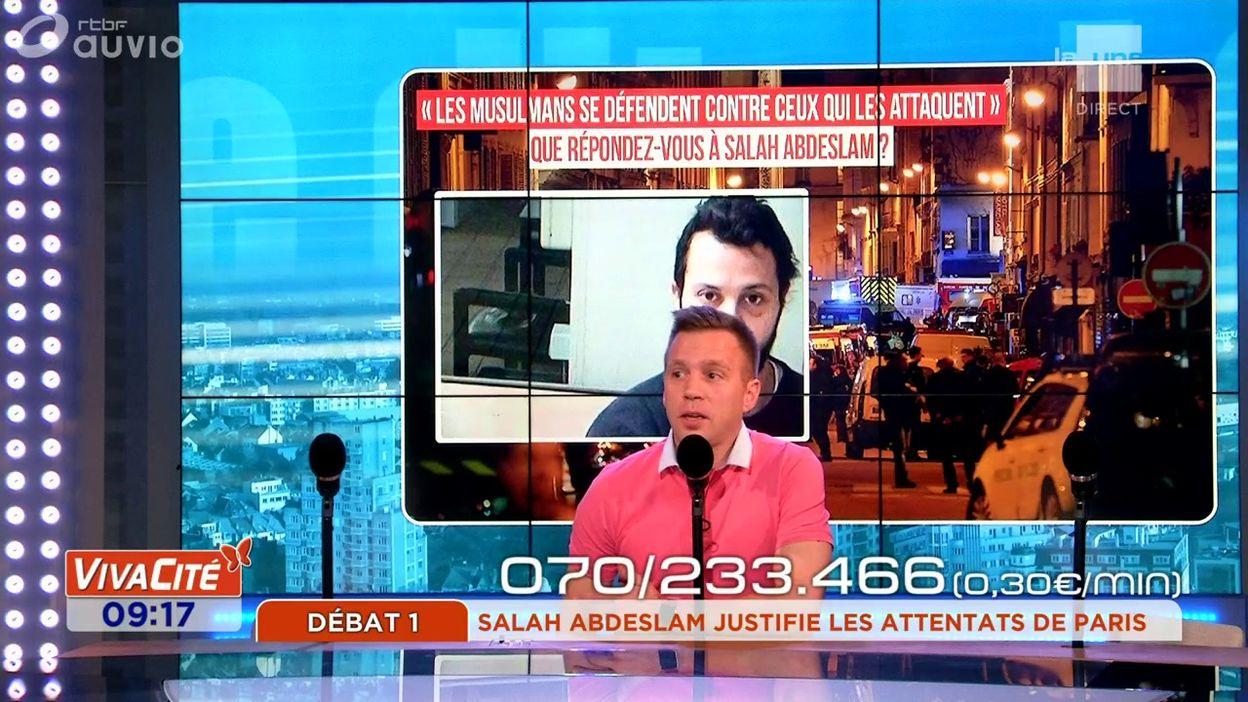 Salah Abdeslam justifie les attentats de Paris