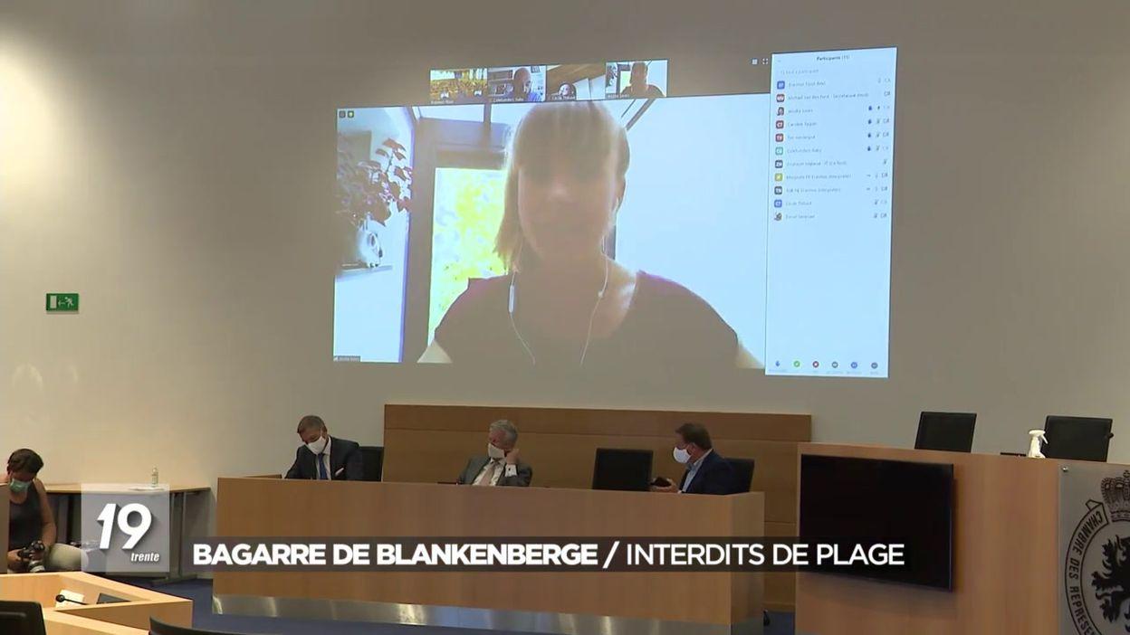 Bagarre de Blankenberge : Interdits de plage