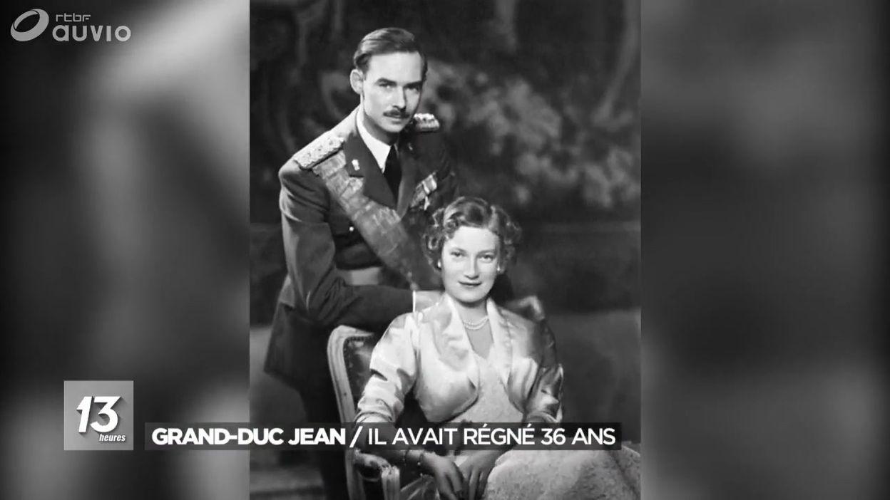 Biographie du Grand-Duc Jean de Luxembourg, décédé ce lundi