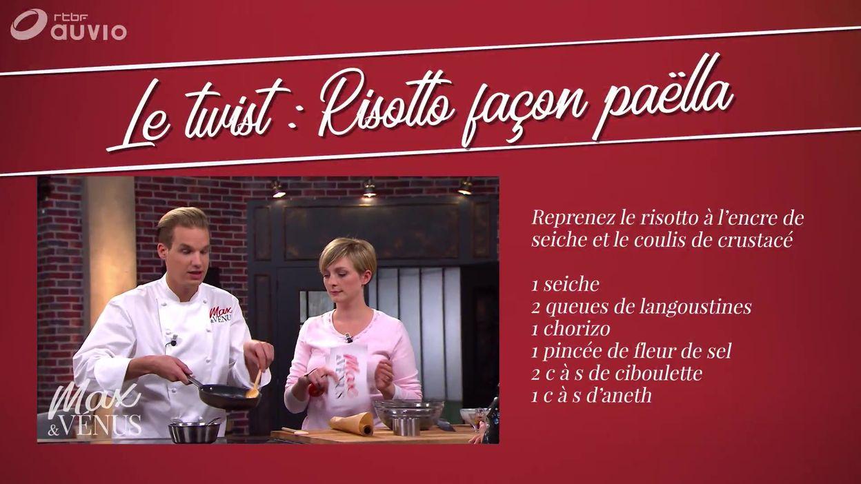 Twist : risotto façon paella