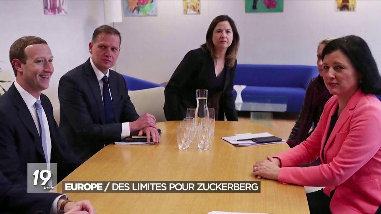 Facebook: Mark Zuckerberg fait les yeux doux à la nouvelle Commission européenne