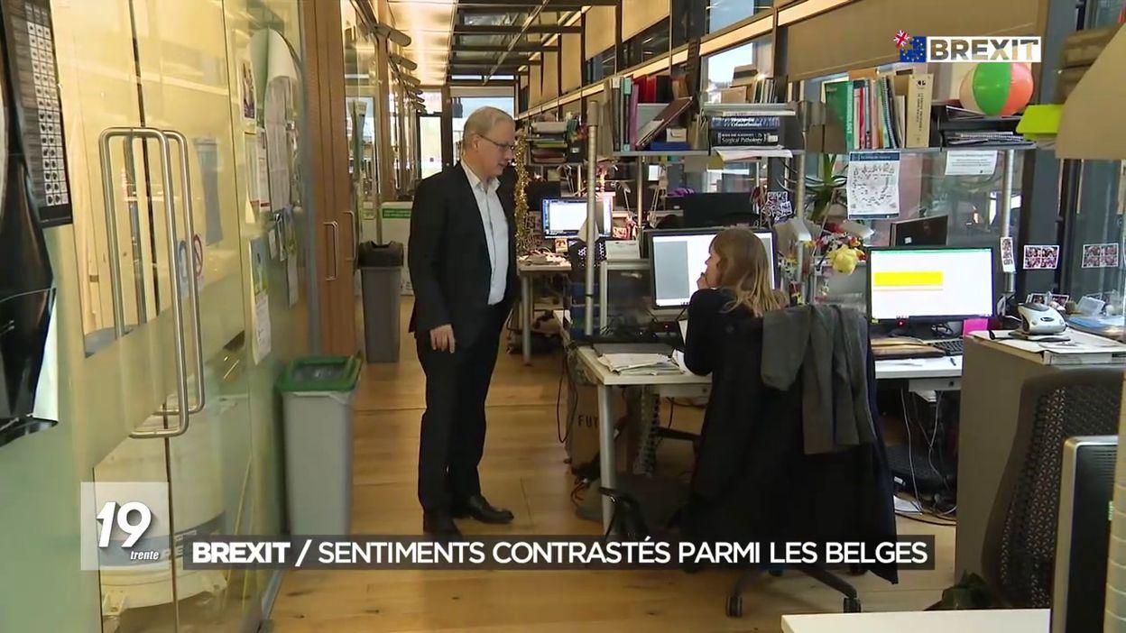 Brexit/ sentiments contrastés parmi les belges