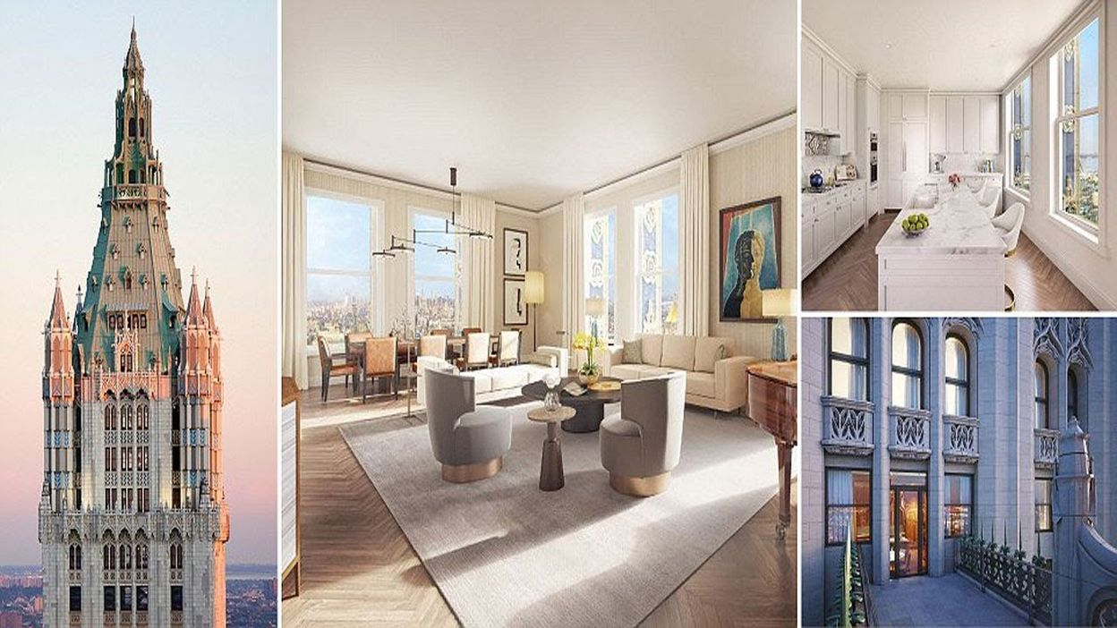 High Quality Penthouse In The Iconic Woolworth Building Manhattan Dubbed U0027The Pinnacleu0027  Goes On Sale For