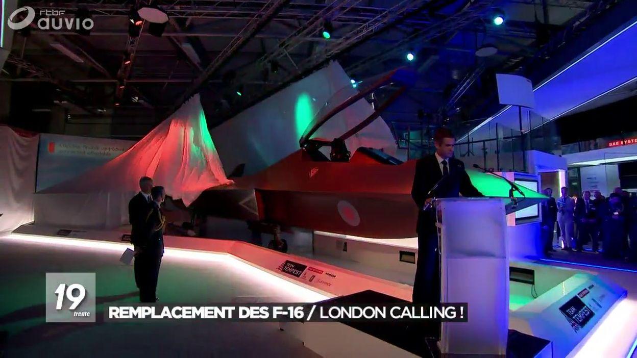 Remplacement des F-16: l'eurofighter anglais