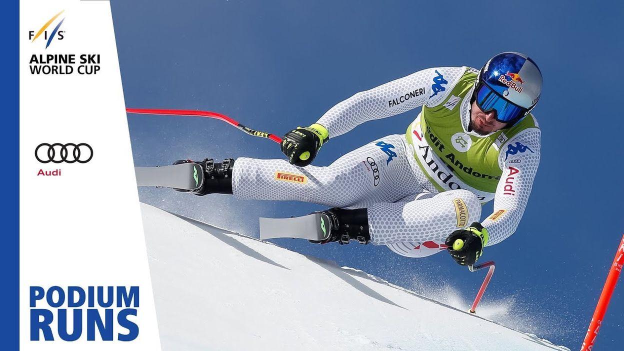 Dominik Paris   Men's Downhill   Soldeu   Finals   1st place   FIS Alpine