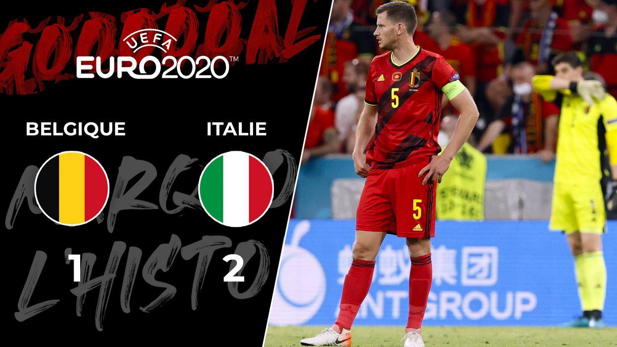 Belgique - Italie : 02 juillet 2021 (1-2)