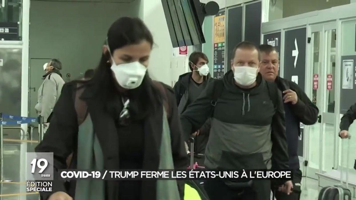 Covid-19 : Donald Trump ferme les États-Unis à l'Europe