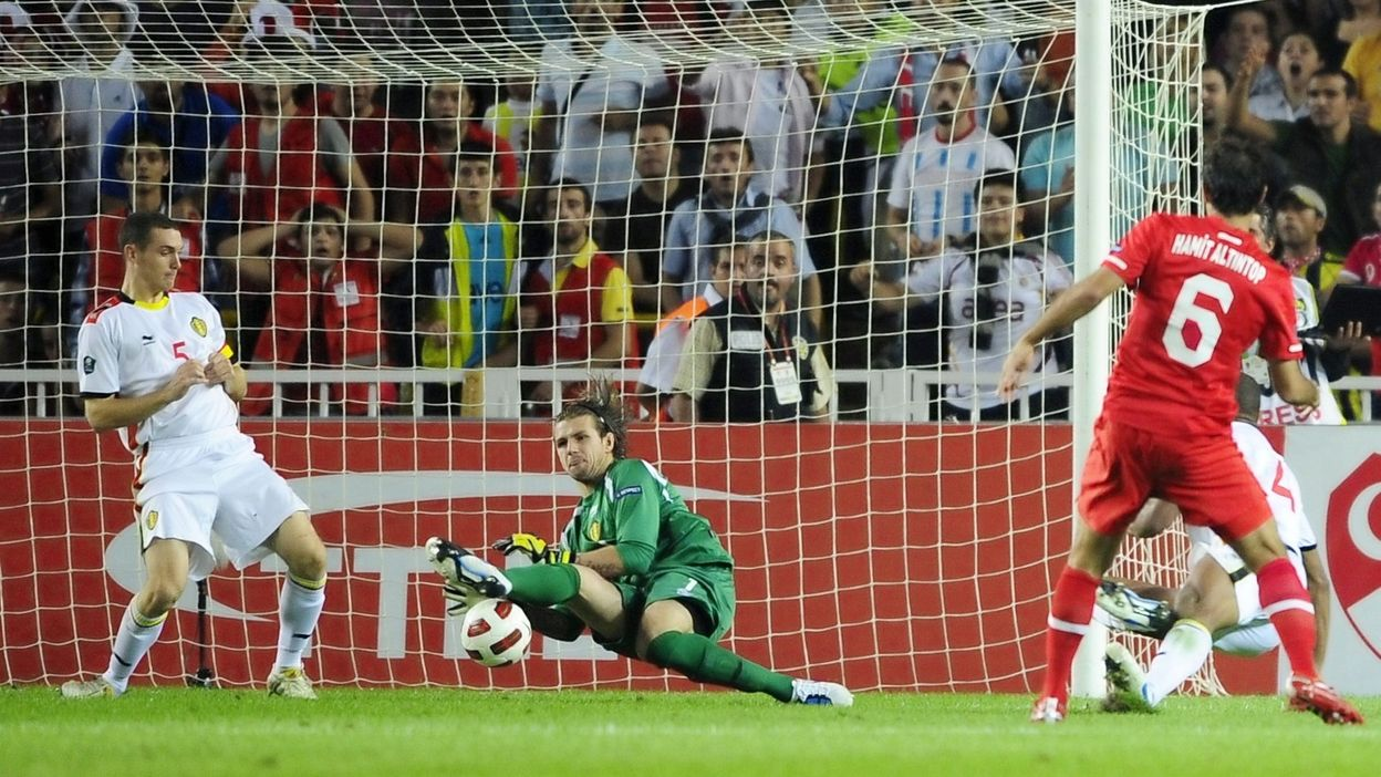 Turquie - Belgique : 7 septembre 2010 (3-2)