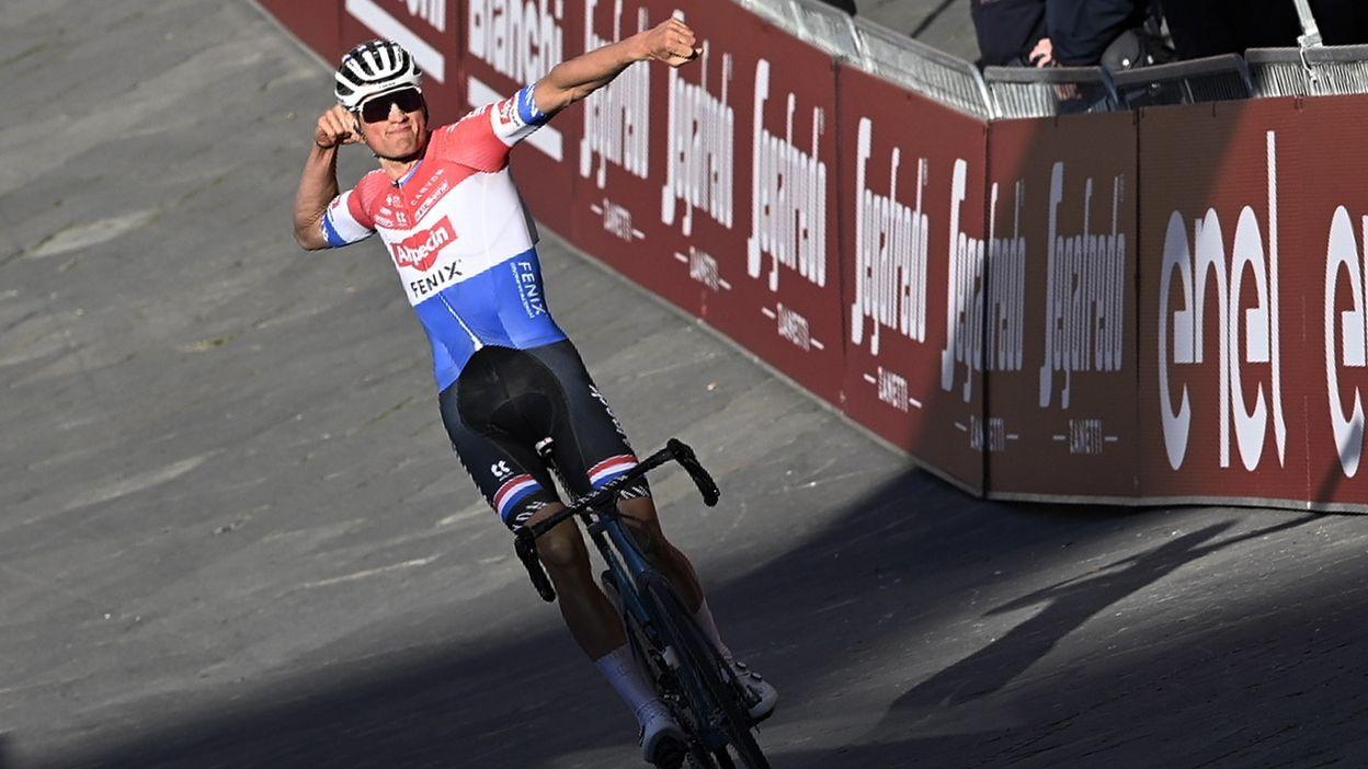 Strade Bianche 2021 : Victoire de Mathieu van der Poel