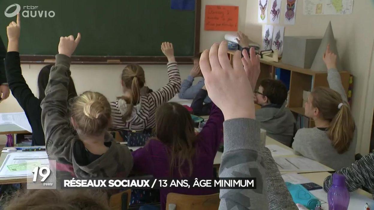 Réseaux sociaux : il faudra avoir 13 ans