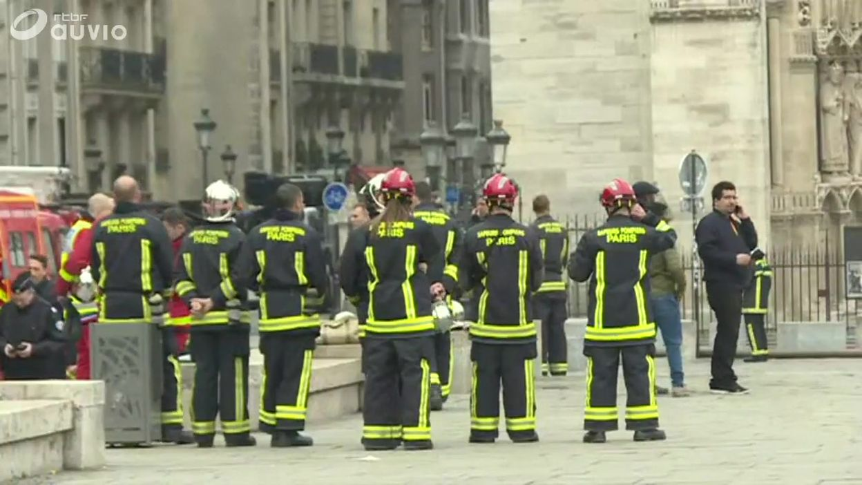 Incendie Cathédrale Notre-Dame de Paris : le travail des pompiers