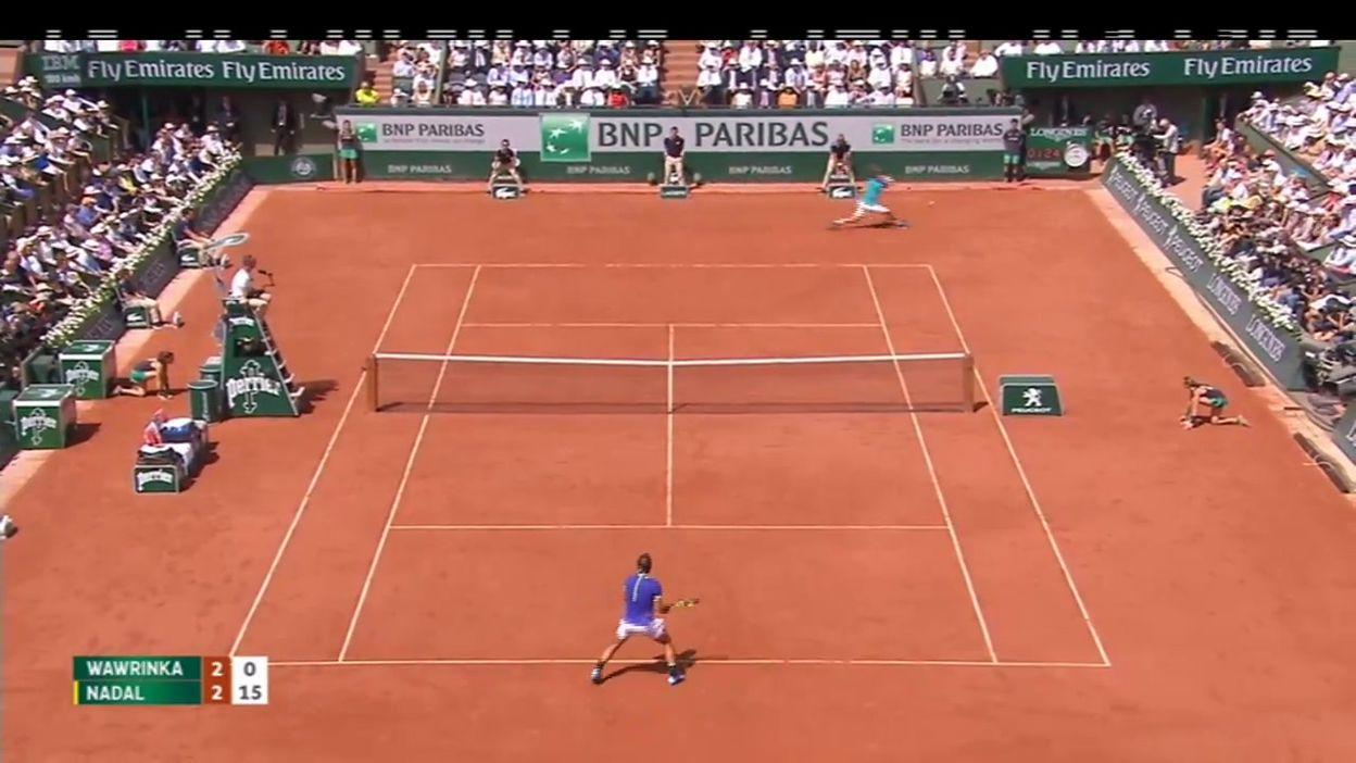 Finale 2017: Rafael Nadal - Stanislas Wawrinka (Partie 1)