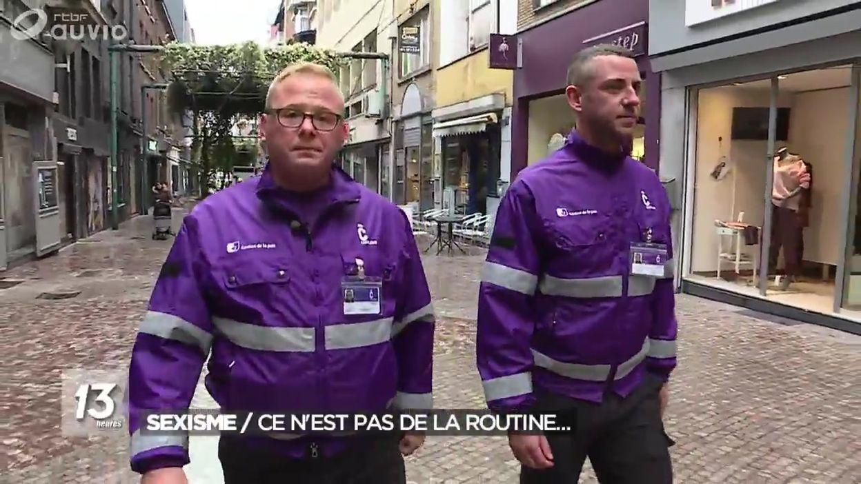 Des patrouilles à Charleroi pour lutter contre les agressions sexistes