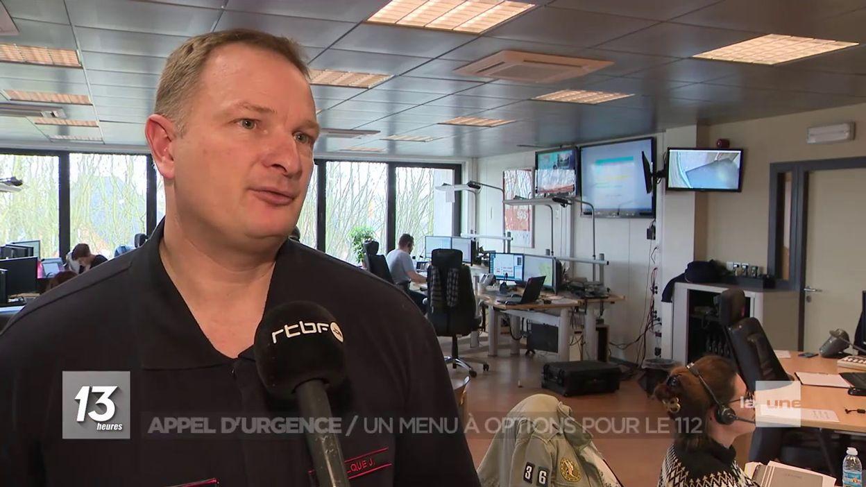 Namur : nouveau menu à options pour le 112