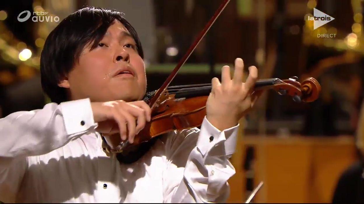 Queen Elisabeth - Luke Hsu - Tchaikovsky, concerto en ré majeur