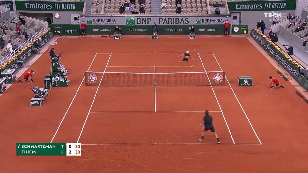 Roland-Garros : l'infranchissable Schwartzman et le raté de Thiem