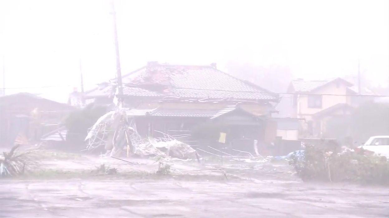 Les dégâts provoqués au Japon par le super-typhon Hagibis