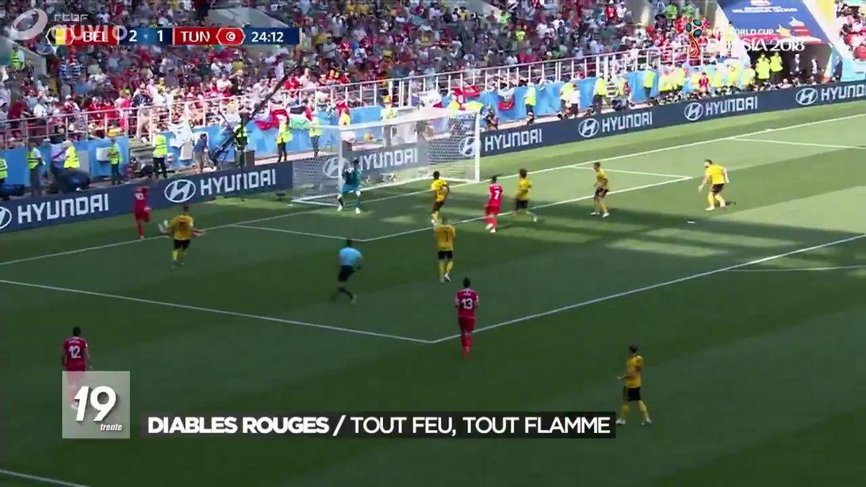 Résumé match Belgique - Tunisie