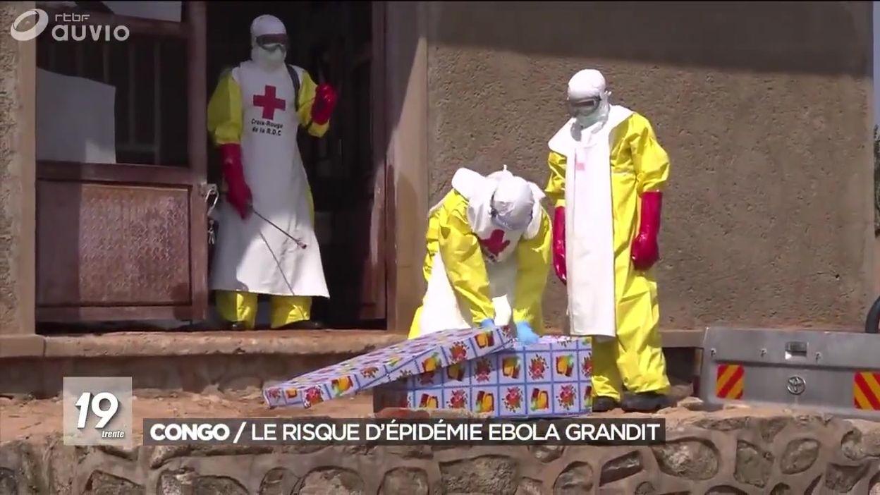 République démocratique du Congo : le risque d'épidémie Ebola grandit