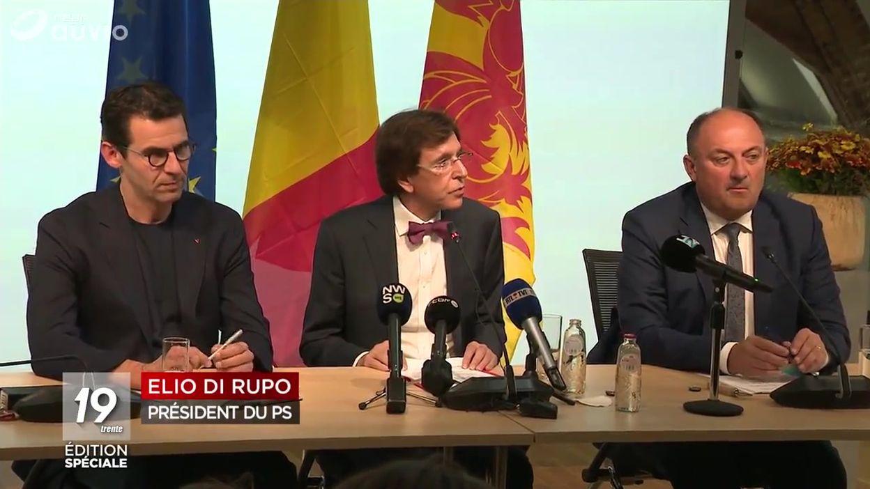 Accord de majorité en Wallonie et en Fédération Wallonie-Bruxelles