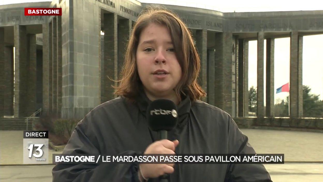 Bastogne : le Mardasson passe sous pavillon américain