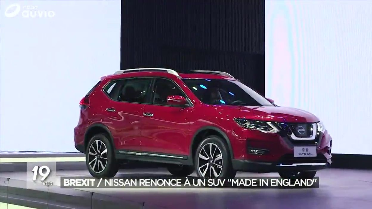 Brexit : Nissan renonce à produire son modèle X-Trail en Angleterre