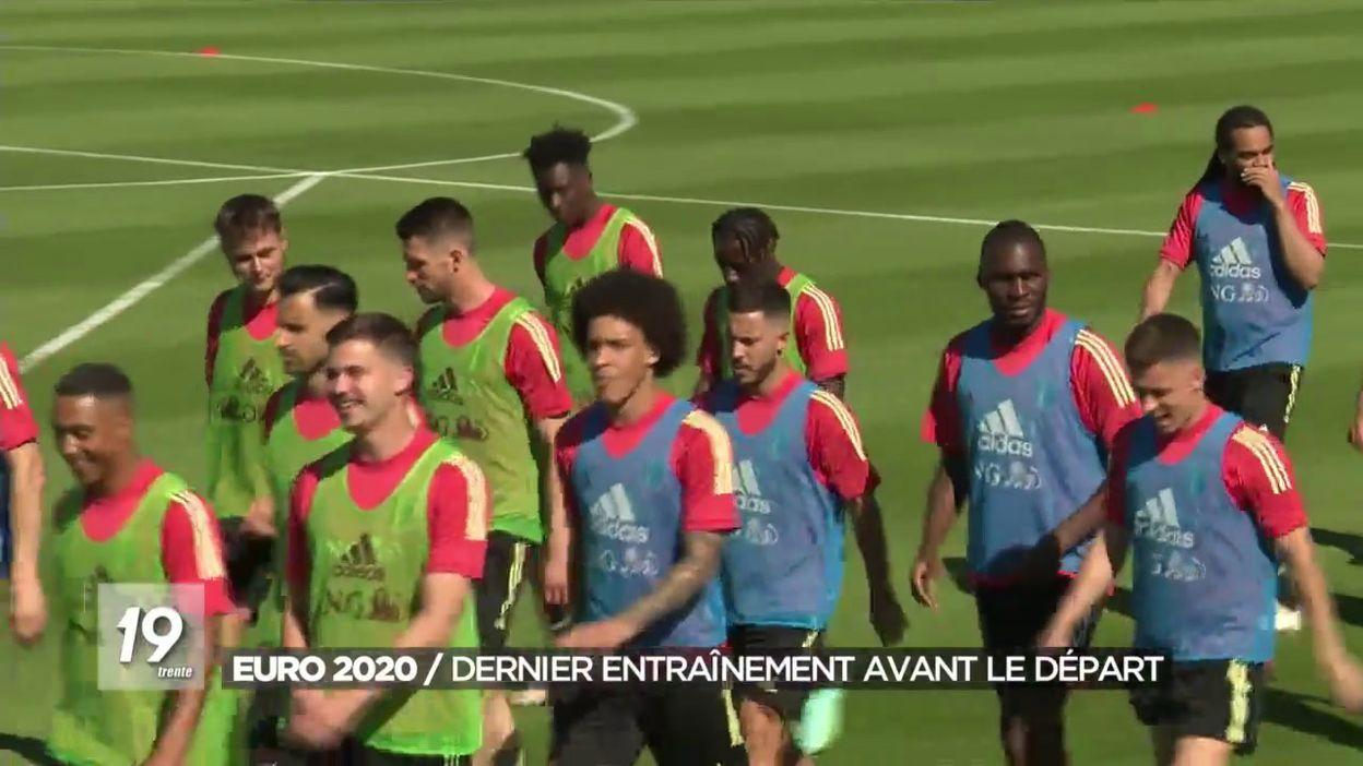 Euro 2020 : Dernier entraînement avant le départ