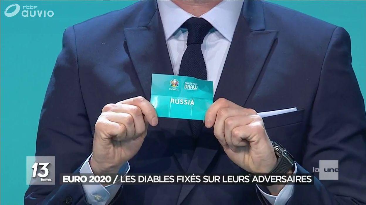 Calendrier Championnat D Europe De Football 2020.La Russie L Ecosse Chypre Kazakhstan Et Saint Marin Pour Les Diables Sur La Route De L Euro 2020