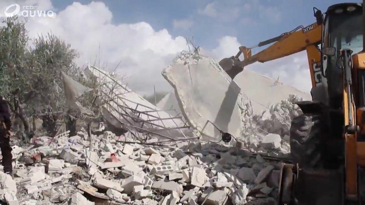Syrie: images de destructions causés par les raids aériens russes sur Idleb
